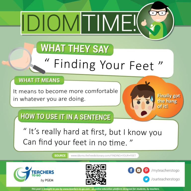 idiom-time-feet